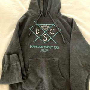 Diamond Supply Co. Girls Hoodie Size Medium